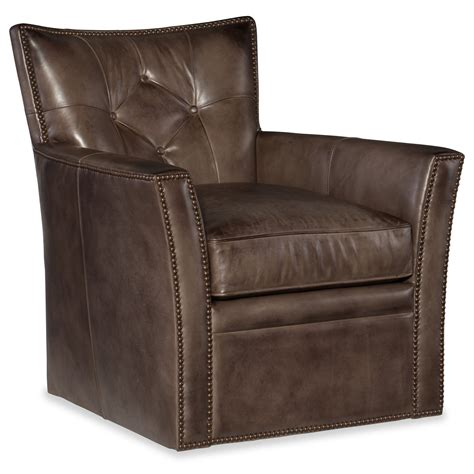 Belfort Leather Club Chair