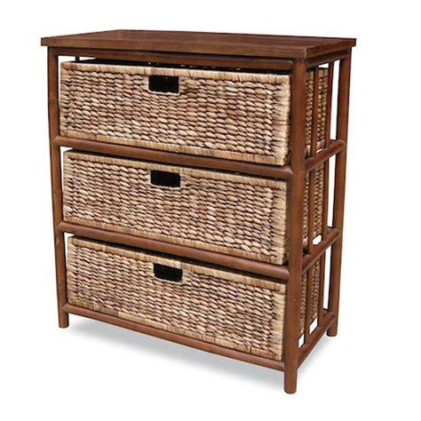 Bellemoor 3 Drawer Open Side Cabinet