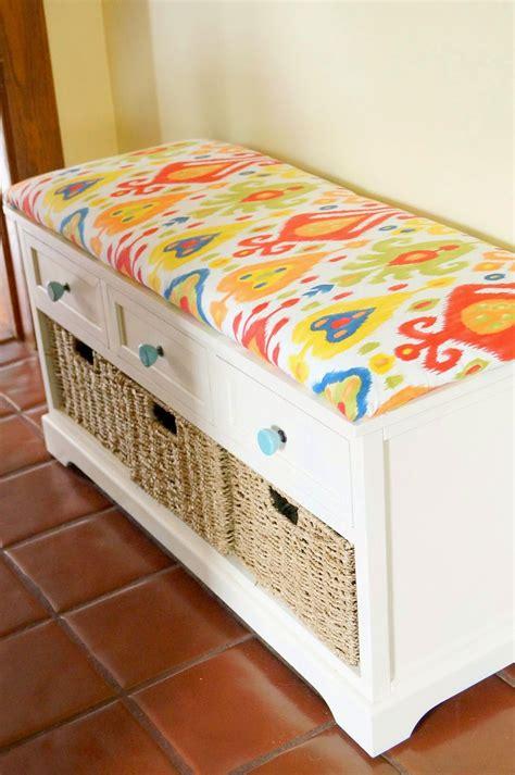 Bench Cushion Diy No Sew