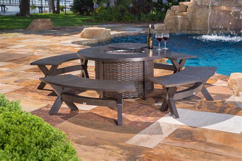 Bench Fire Pit