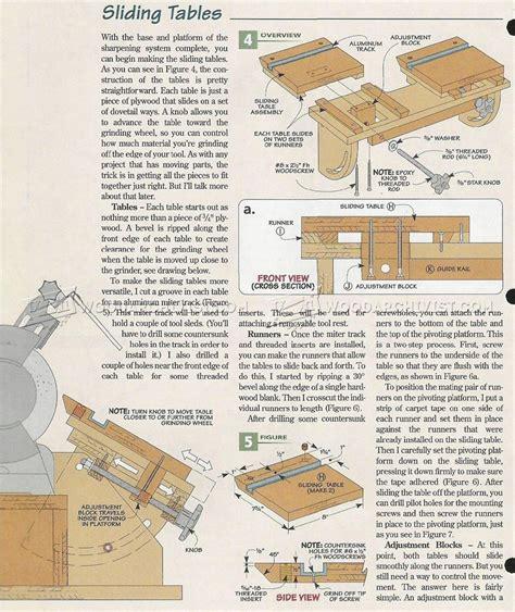 Bench Grinder Tool Rest Plans