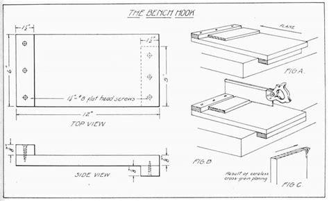Bench Hook Design Plans