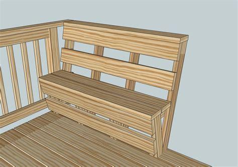 Bench Railing Plans