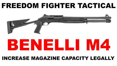Benelli Benelli M4 Tactical Capacity.