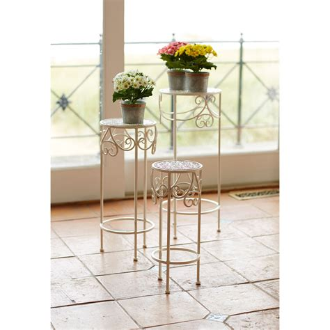 Berenice Pedestal Plant Stand (Set of 3)