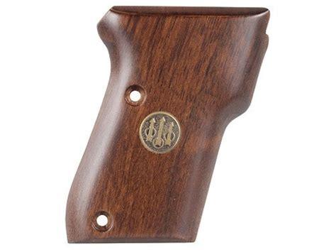 Beretta Beretta 21a Bobcat Wood Grips.