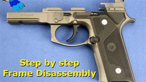 Beretta Beretta 92 Frame Disassembly.