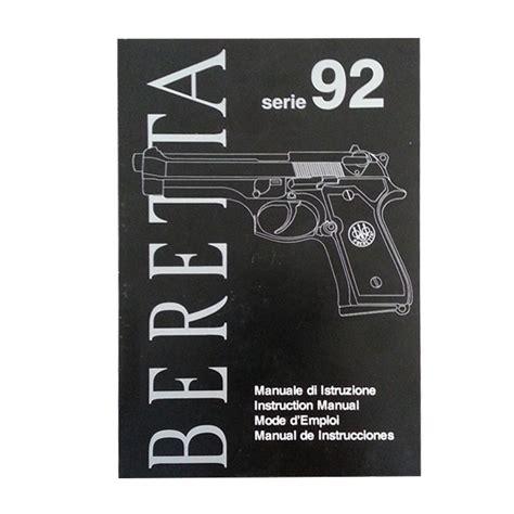 Beretta Beretta 92 Owners Manual.