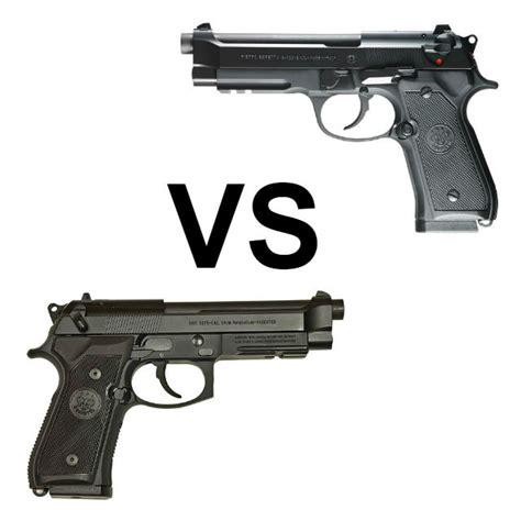 Beretta Beretta 92fs Vs 92a1 Vs M9a1.
