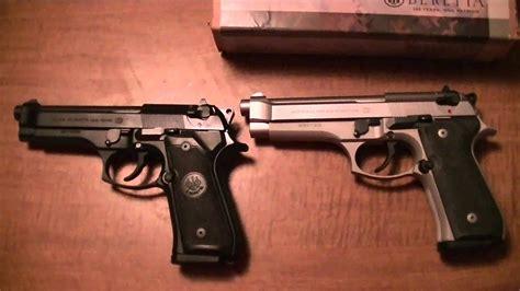 Beretta Beretta 92fs Vs M9 Vs M9a1.