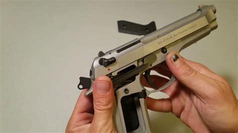 Beretta Beretta 92s Safety Removal.