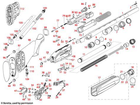 Beretta Beretta A391 Xtrema 2 Bolt Diagram.