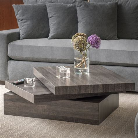 Bergenfield Contemporary Coffee Table