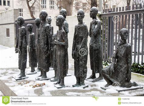 Berlin Memorial In Grosse Hamburger Strasse To Jews Murdered In