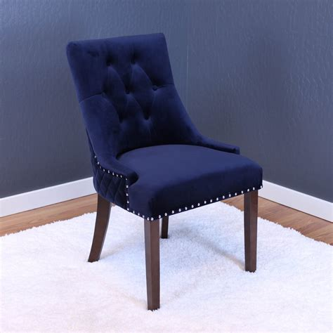 Bernyce Velvet Parsons Upholstered Dining Chair (Set of 2)