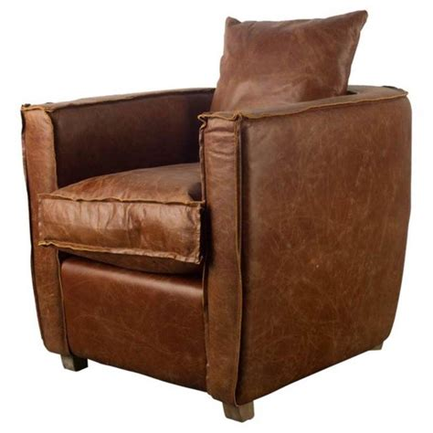 Bertaux Cognac Club Chair
