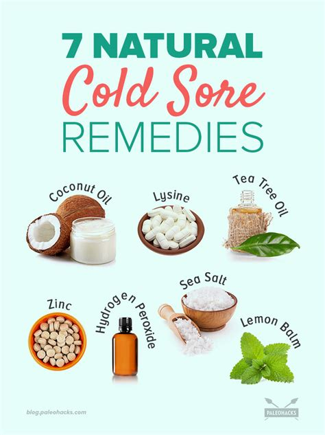 best cold sore treatment home remedy