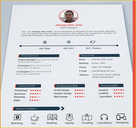 Creative Lawyer Business Card Psd Best Free Resume Templates In Psd And Ai In 2017 Colorlib