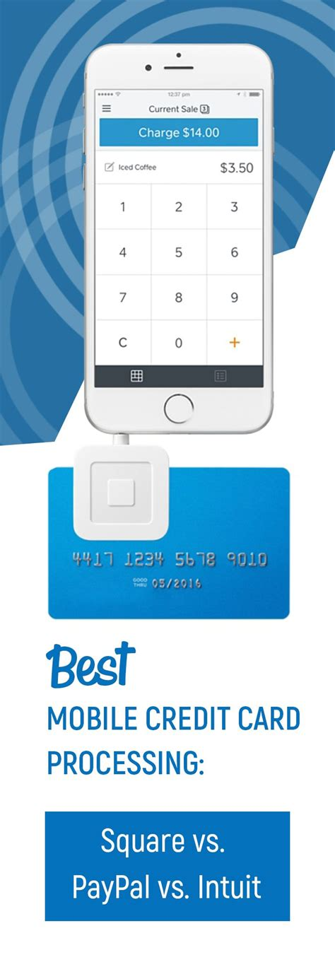 Credit Card Processing Uk Comparison Best Mobile Credit Card Processing Square Vs Paypal Vs