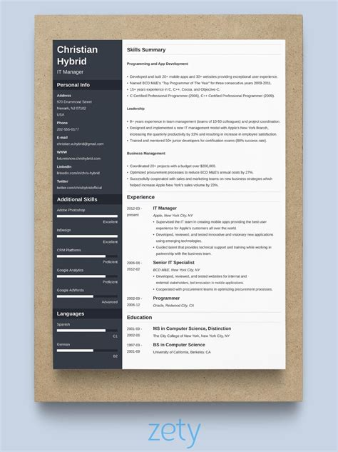 Best Resume Format For Experienced Free Download 6 Experienced Resume Samples Examples Download Now
