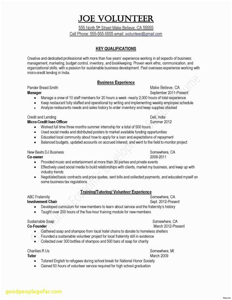 Best Resume Letter Bsr Resume Sample Library And More