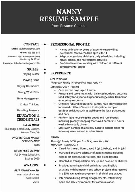 Best Resume Job Descriptions Free Job Descriptions Job Description Template