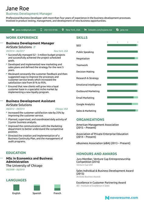 Best Resume Download Resume Templates For Word Download