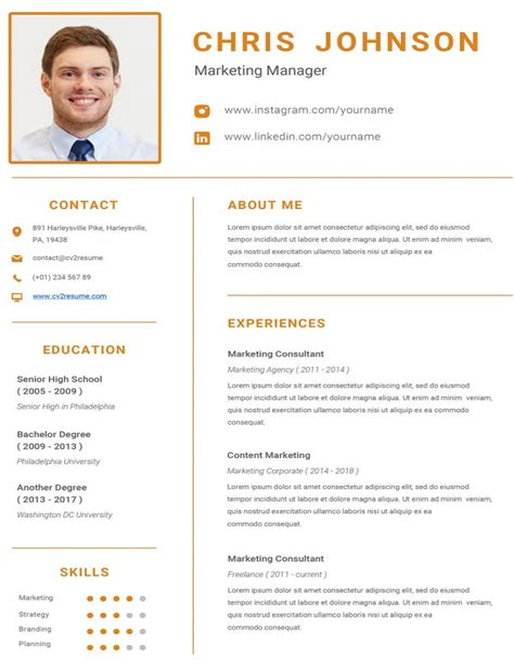 Best Sample Of Resume Pdf Download Resume Format Write The Best Resume