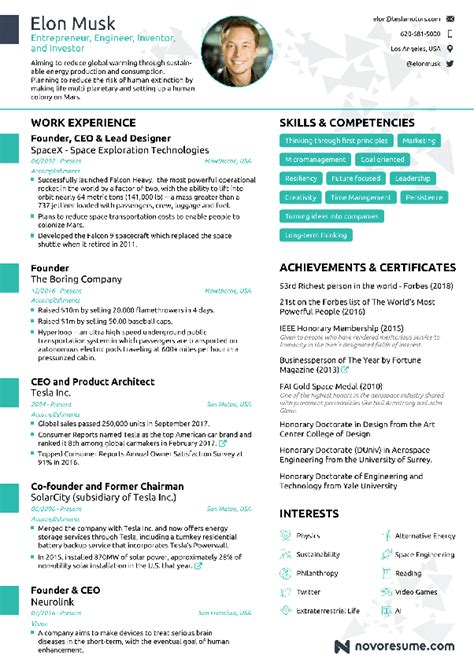 best software for making a resume ejemplo biografia escolar
