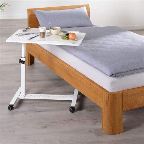 Bett Beistelltisch