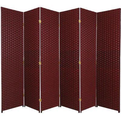 Bhatia 70.75 x 105 6 Panel Room Divider