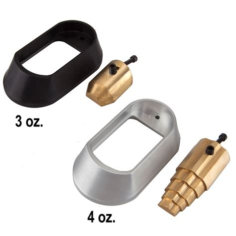Glock-19 Big Mouth Aluminum Magwell Glock 19.