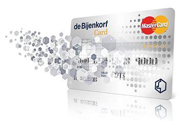 Bijenkorf Card Credit Card Nederlands Krediet Collectief Offerte Aanvragen