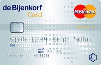 Bijenkorf Creditcard Wereldwijd Creditcard Aanvragen Vergelijk D Beste Kaarten Oktober
