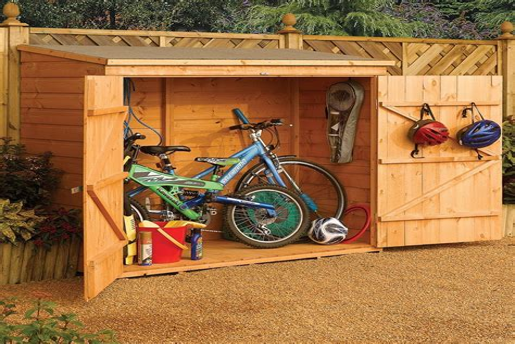 Bike Storage Building