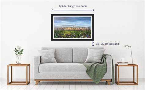 Bild über Couch