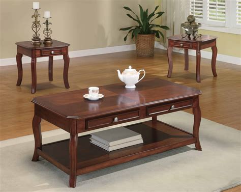Bind Elegant Rich 3 Piece Coffee Table Set