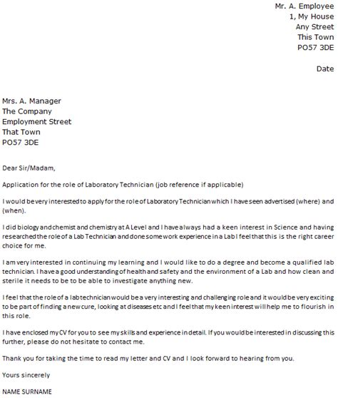 cover letter example for medical lab technologist medical technologist cover letter - Cover Letter Medical Technologist