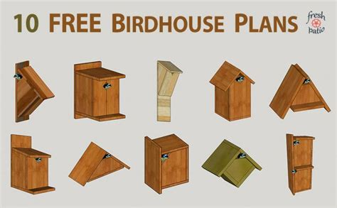 bird house plans free simple build