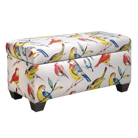 Birdwatcher Storage Bench