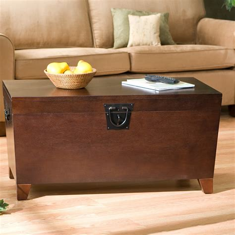 Bischoptree Storage Trunk Coffee Table