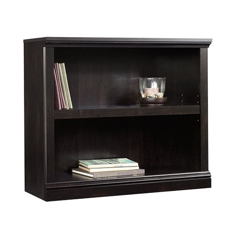 black 2 shelf bookcase