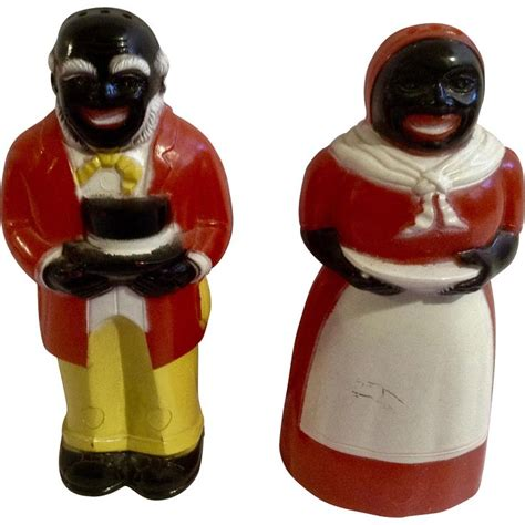 Black Man And Woman Salt And Pepper Shakers  Ebay.