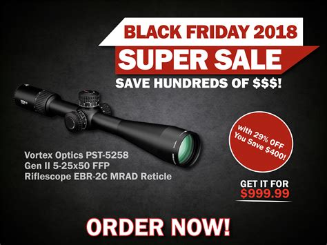 Vortex-Optics Black Friday Deal Vortex Optics.