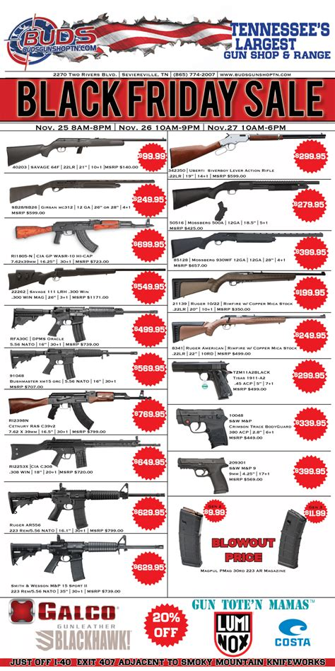 Buds-Gun-Shop Black Friday Guns Buds Gun Shop.