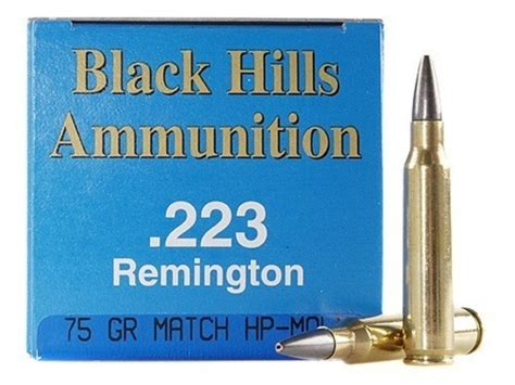 Slickguns Black Hills Remanufactured Ammunition 223 Remington 75 Grain Slickguns.