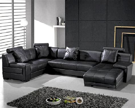 Black Modern Couches Modern Sectional Sofas And Corner Couches In Toronto