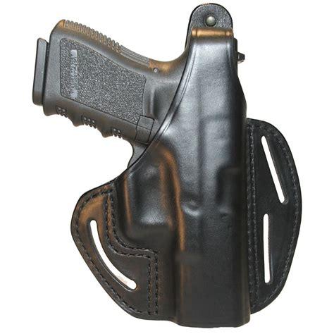 Glock-19 Blackhawk Leather Holster For Glock 19.