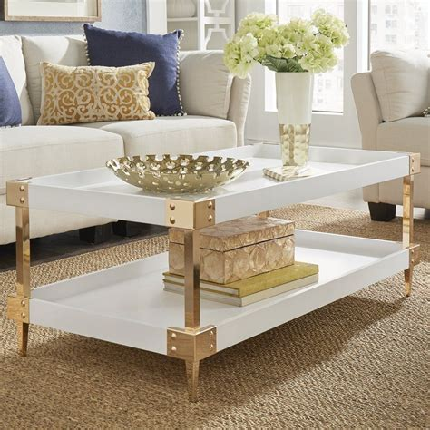 Blais Coffee Table With Tray Top