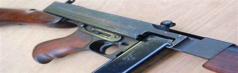Tommy-Gun Blank Firing Tommy Gun Uk.